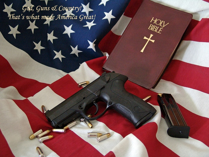 Image result for guns and flags