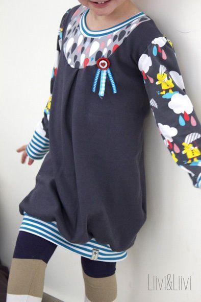 eBOOK #58 Mädchen/Tochterkleid Ballon.dress - Nähanleitungen bei Makerist