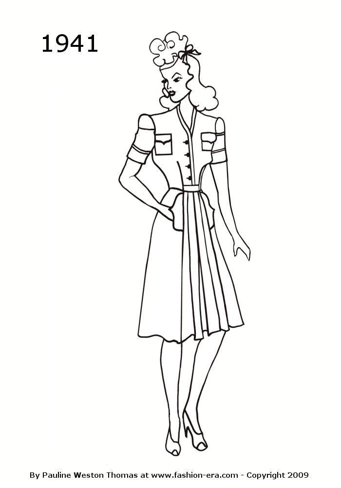 Vintage Fashion Coloring Pages Google Search Redwork