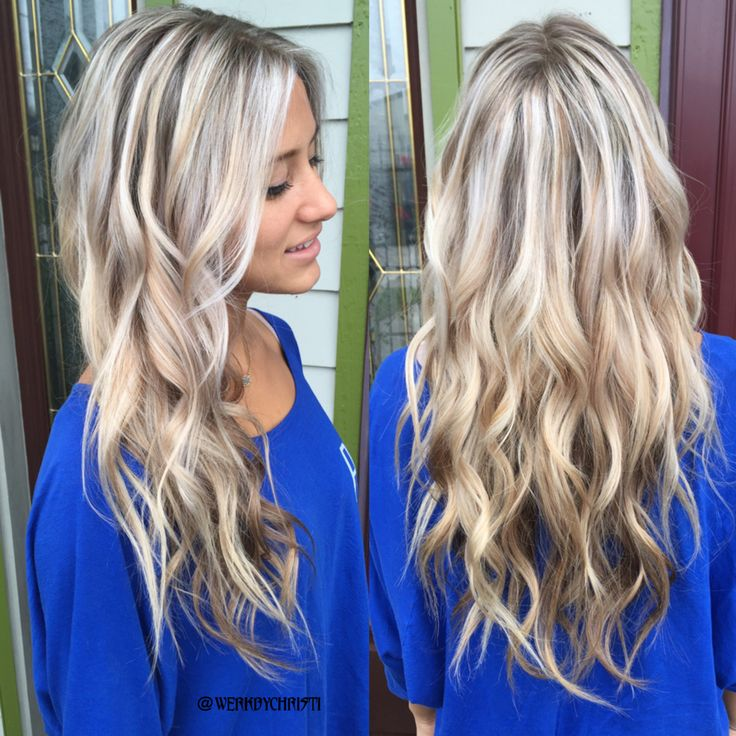 Platinum Blonde Silver Blonde Ash Blonde Balayage
