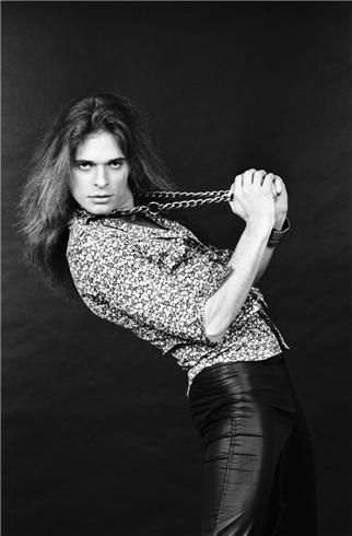 David Lee Roth studio portrait