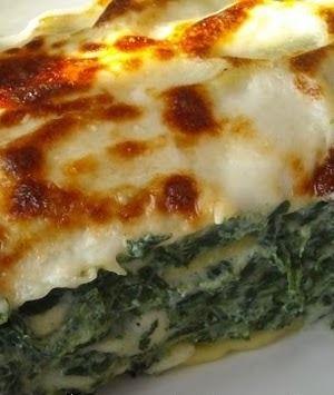 Lasagne ricotta e spinaci