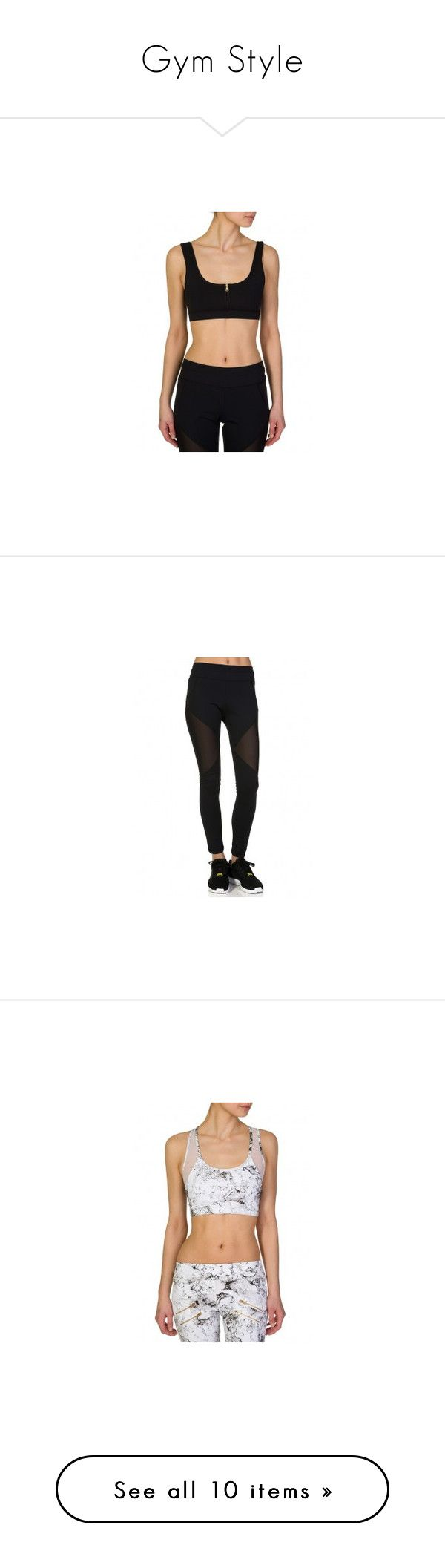 """Gym Style"" by zeeandcoltd ❤ liked on Polyvore"