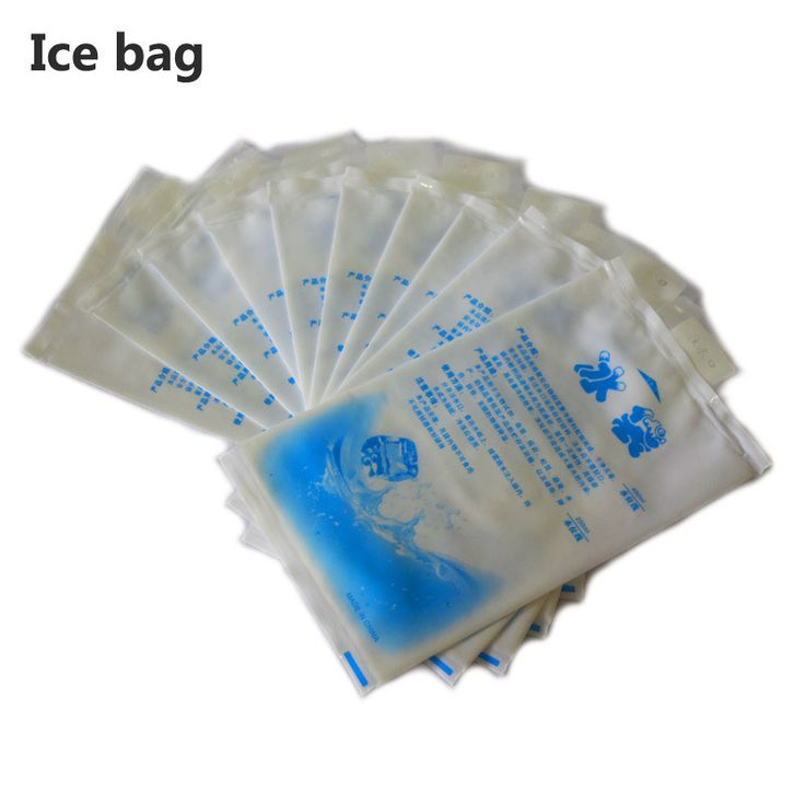 5pcs/lot Reusable Gel Ice Bag Cool Pack High Quality Fresh Cold Cool Cooler Bags box bolsa termica sac isotherme 200 400 600ML