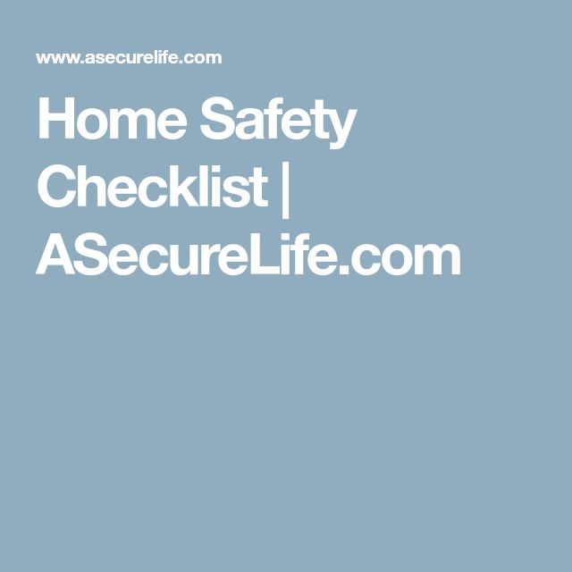 Best  Safety Checklist Ideas On   E Safety Rules