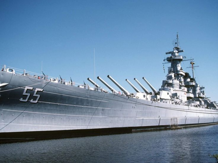 USS North Carolina (BB-55) [16000x12000]
