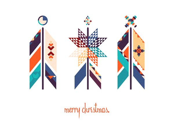 50 #Christmas Designs To Inspire Your 2015 Holiday Message – Design School
