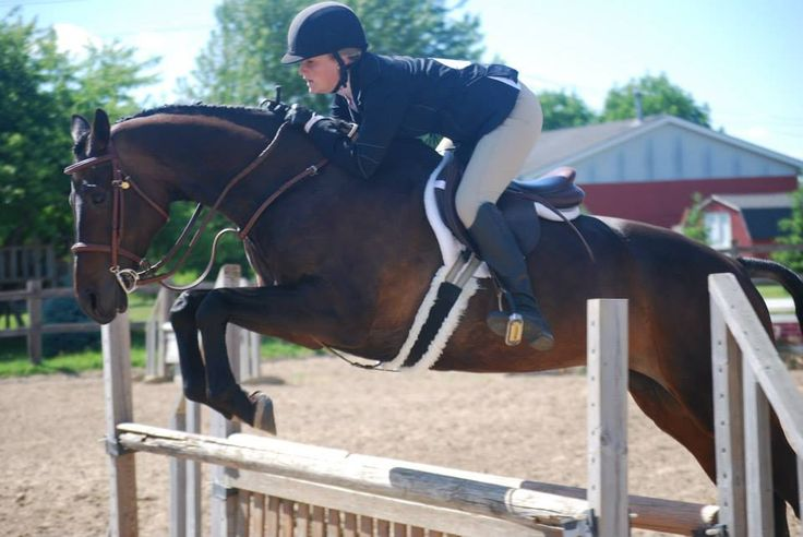 """Her jumping technique is terrific and she appears to be a sensational mover."" - Carol Dean-Porter"