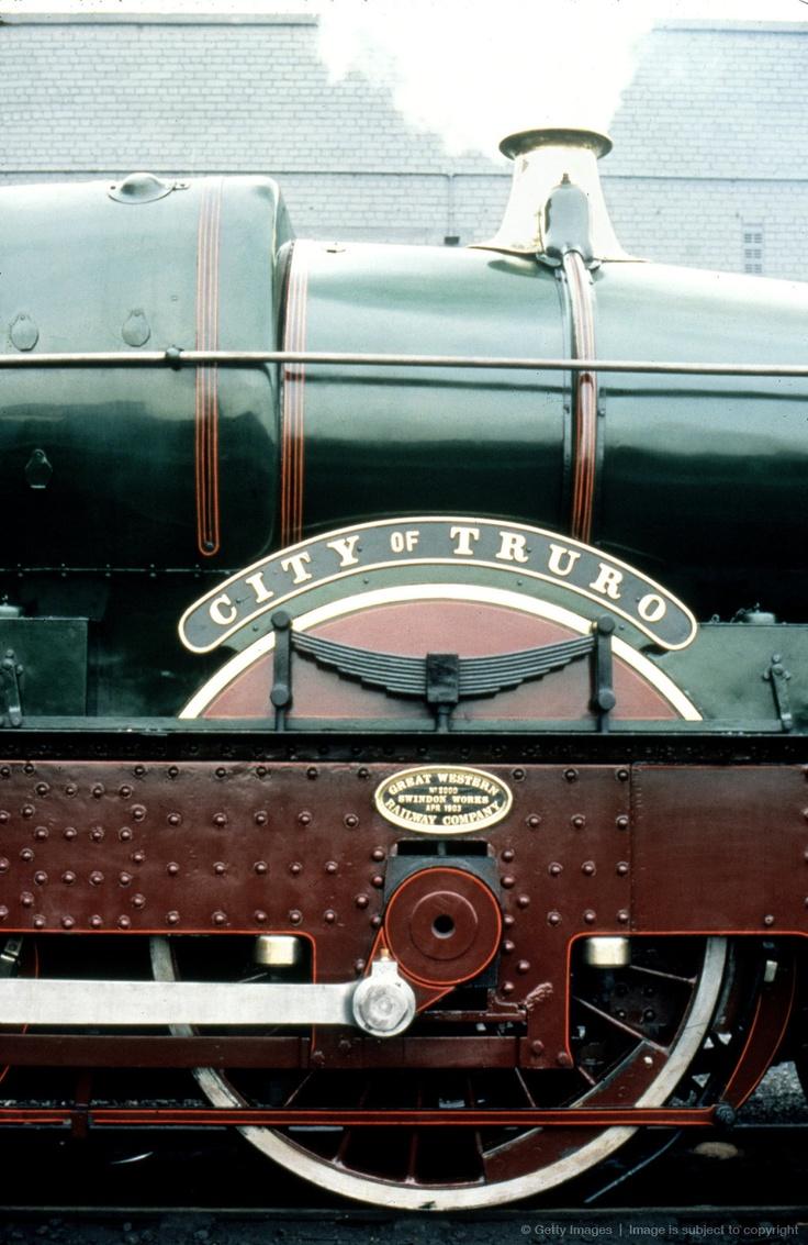 City of Truro 4-4-0 steam locomotive, No 3440, 1903.