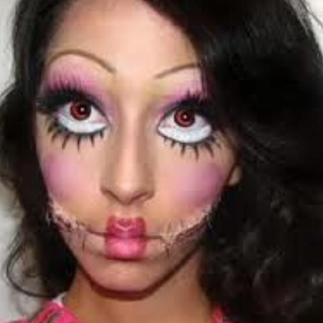 170 best Costume & Make-Up Ideas images on Pinterest | Halloween ...