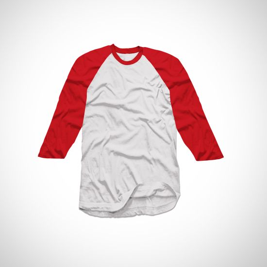 Raglan Red White Tee | Click http://tees.co.id/products/detail/17621?utm_source=pinterest-social&utm_medium=social&utm_campaign=product  #shirt #tshirt #tees