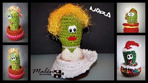 Cactus que se fueron con Nora. Muchas gracias guapa! un beso y cuidame los muy bien!!