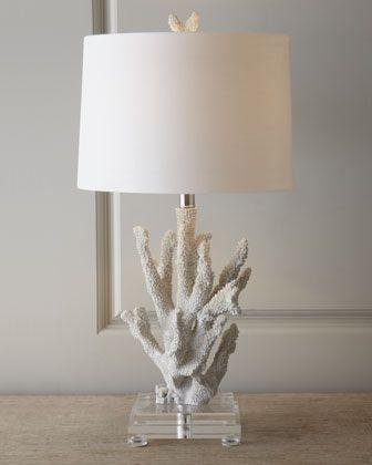 """Coral"" Lamp by Regina-Andrew Design at Neiman Marcus."