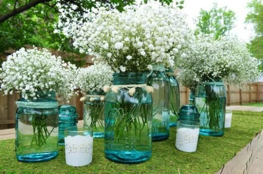 Baby's breath gets another chance... gorgeous. #weddingflowers