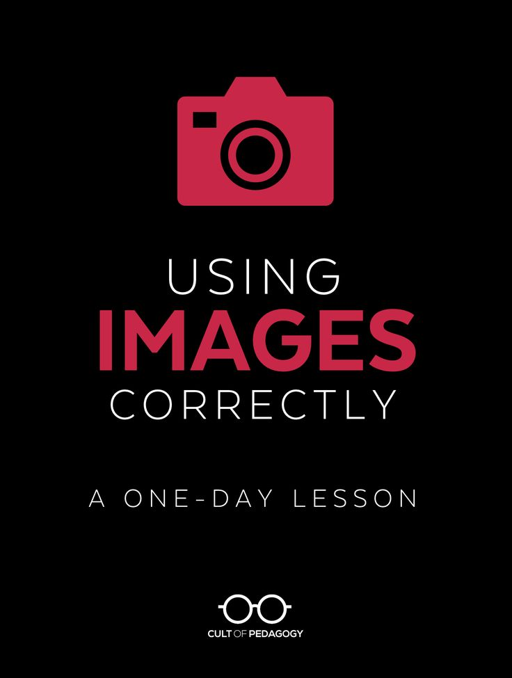 Students use images all the time, but do they use them legally? Ethically? Correctly? Too often, the answer to all of those questions is no. This lesson teaches students how to correctly use images in their printed and digital products: images that they place on written pieces, presentations, videos, posters, e-books, and other projects. #digitalliteracy