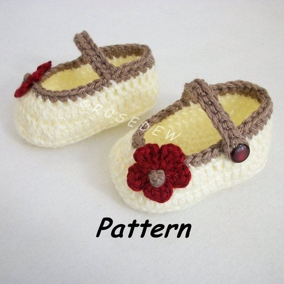 Instant Download to PDF CROCHET Pattern: Basic Mary by R0SEDEW