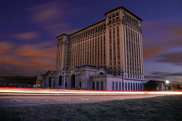 Detroit's Abandoned Michigan Central Station