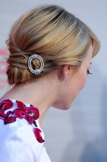The Voluminous Updo Wedding Hairstyle for Thin Hair- you can be a bride of 20+ years to try these styles :-)