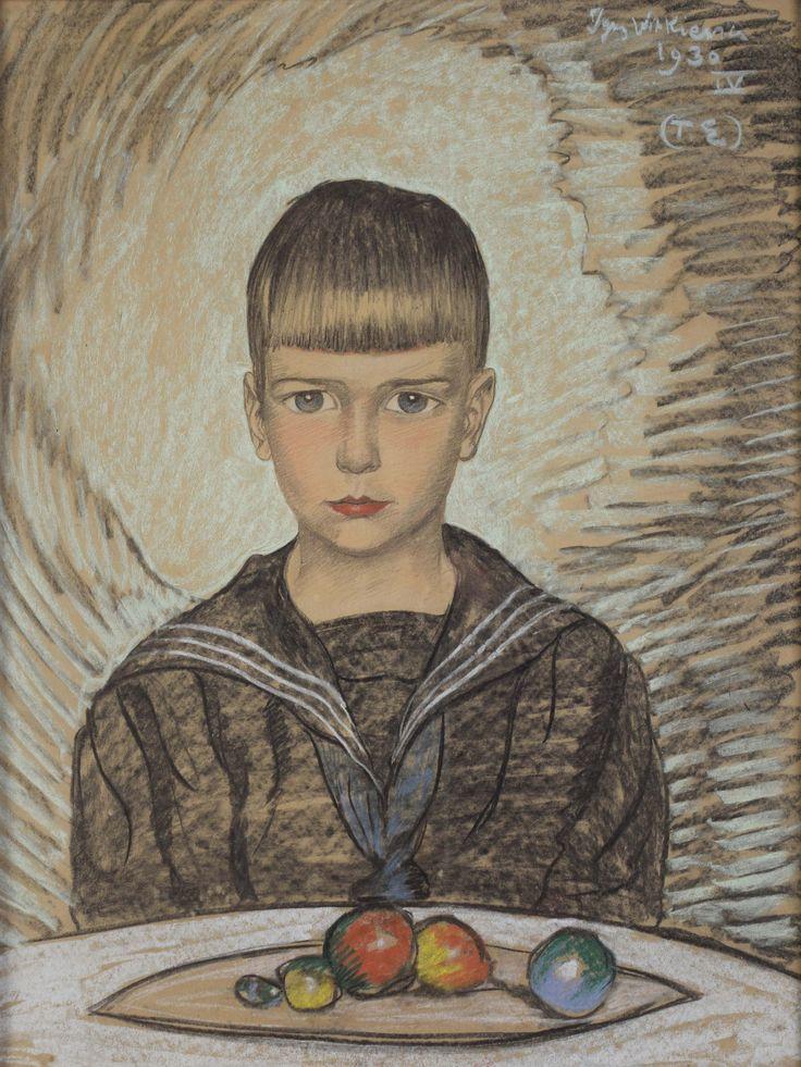 """Witkiewicz Stanisław Ignacy (1885-1939) """"Portret Józefa Januszkowskiego"""""""