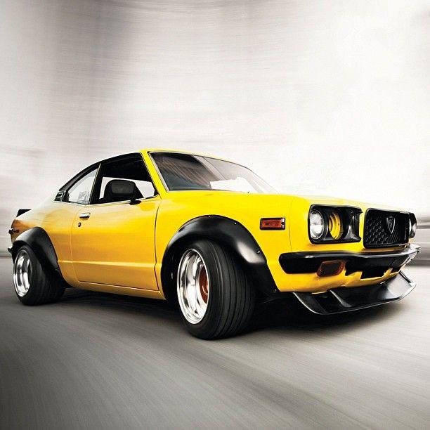 Mazda Rx3 #superstreet