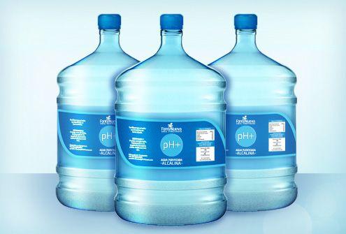 Agua Alcalina en Garrafón