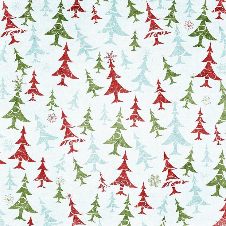 Рождественская бумага для открыток, марта