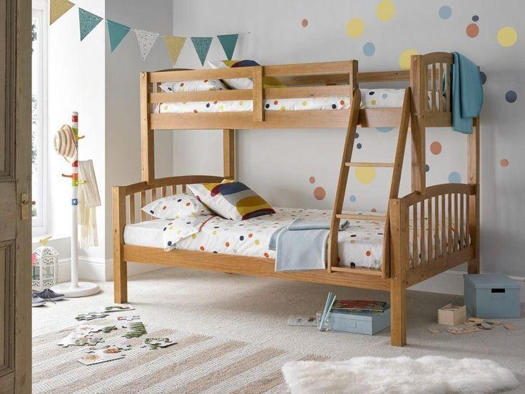 American Pine Triple Sleeper from Happy Beds