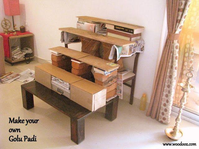 Do it yourself Golu steps