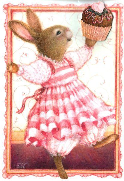 .bunnies love cupcakes too...