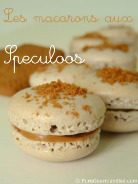macarons aus speculoos