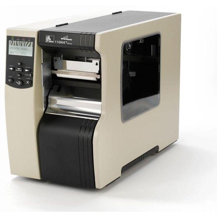 Zebra XI Series 110Xi4 112-801-00000 Direct Thermal Label Printer Monochrome 203dpi Serial Parallel USB Ethernet