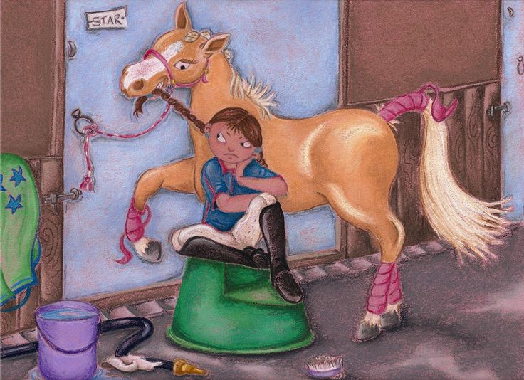 """""""Naughty Pony"""". A fun illustration inspired by all the little girls who ever had one of those cheeky ponies. I know I did !. If you would like one of your naughty pony please contact me.  Pastel & Pastel Pencil on Canson Pastel Paper"""