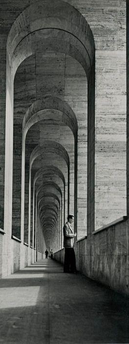 PORTALS OF  SILENCE.....   |   BY  HERBERT  LIST   |   TERMINI STATION  |  ROME, ITALY   |   1950   |   #HerbertList   |