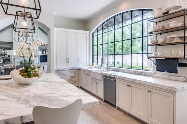 South Shore Decorating Blog: Decorating With Whites and Grays and Blacks