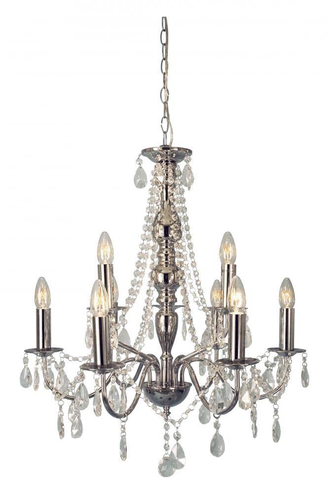Chateau lysekrone Krom | Lampehuset