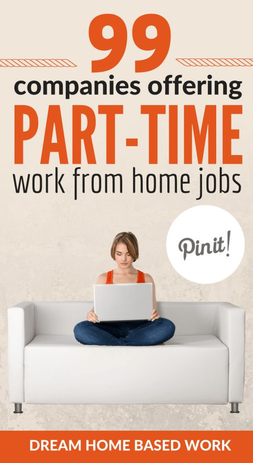 Easy Part Time Jobs For Stay At Home Moms