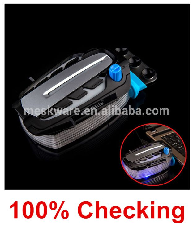 Mini vacuum USB laptop cooler/cooler laptop with blue led light