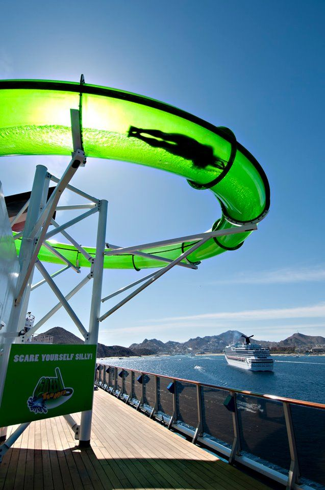 The Green Thunder on the Carnival Spirit. The Spirit was my second cruise!
