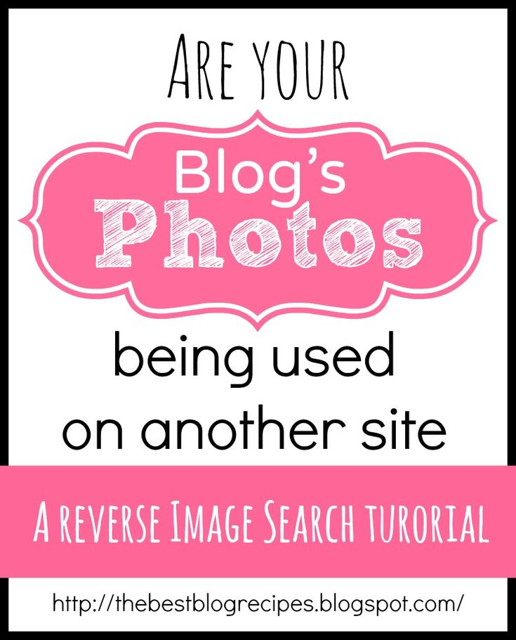 Blogging 101: A Reverse Image Search Tutorial