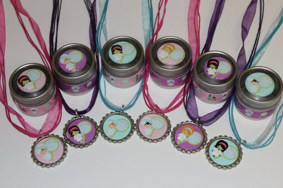 Spa Day Party Favors  Girls Spa Birthday Party by NanasPartyPalace, $18.50