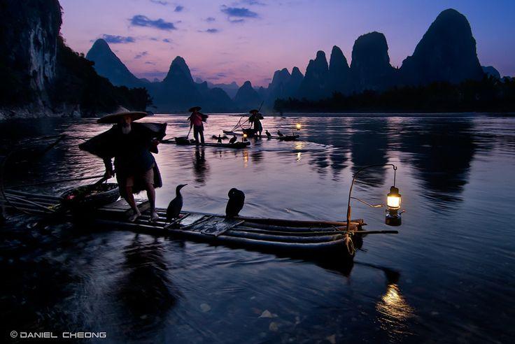 Fishermen Li River - Guilin, China.