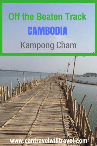 Off the Beaten Track Cambodia - Kampong Cham, Bamboo Bridge