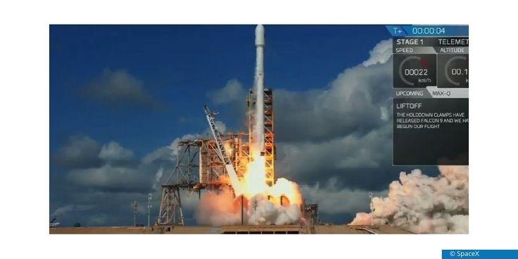 SpaceX transportiert heute erstmals im Auftrag des US-Militärs einen Raumgleiter ins All. Der Einsatzzweck des wie ein geschrumpftes Space Shuttle aussehenden X-37B ist geheim.