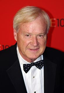"""Chris Matthews, MSNBC..the """"he gives me a thrill down my leg"""" guy for obama...freak."""