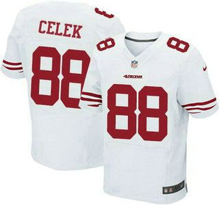 Nike NFL Mens Jerseys - San Francisco 49ers Jersey 89 Vance McDonald Black Alternate 2015 ...