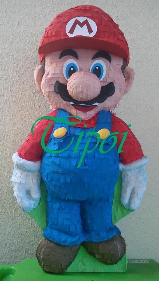 Piñata súper Mario