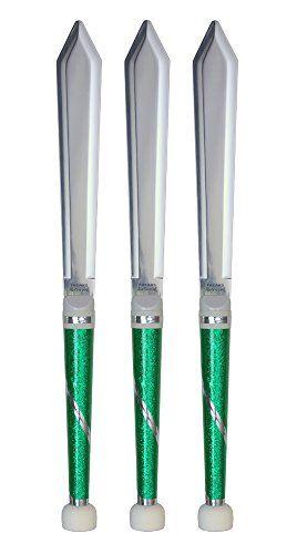 Freaks AirSword Juggling knives x 3 (Green glitter) Freaks Unlimited http://www.amazon.co.uk/dp/B0188BWRX0/ref=cm_sw_r_pi_dp_28Ntwb14WPR06