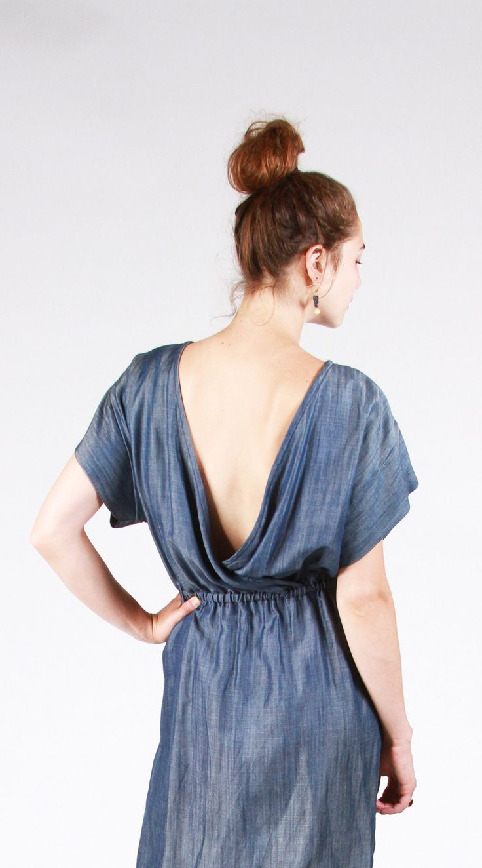The Bridgetown Backless Dress & Tunic Sewing Pattern