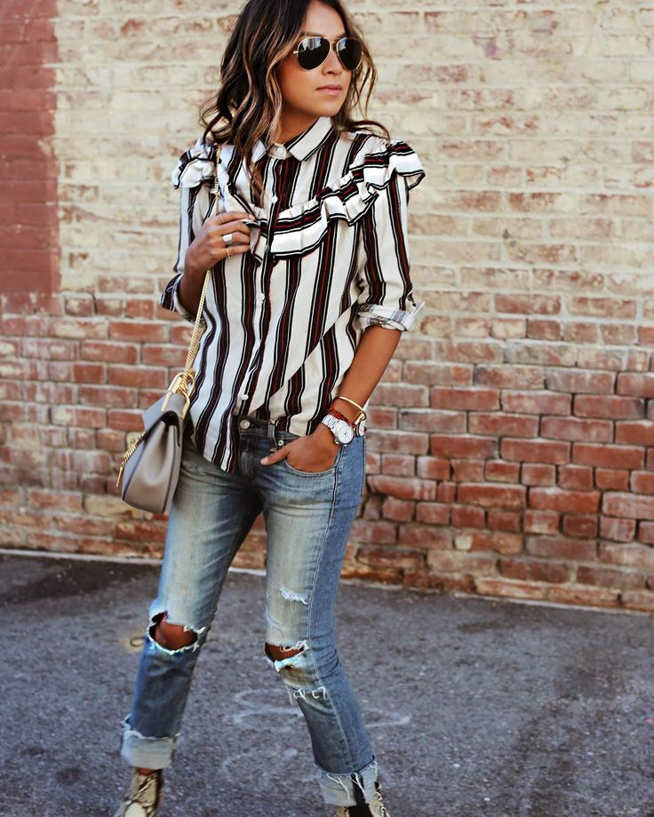 """""""Ruffled in this @storets top! ❤️ 