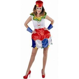 Déguisement Circus Clown femme luxe